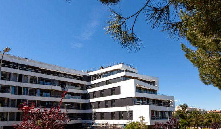 Estado obras comprar piso obra nueva Alameda Osuna