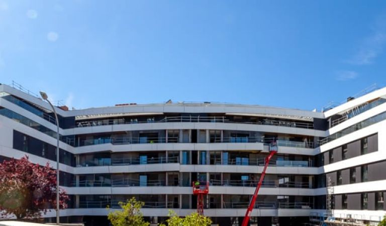 Estado obras pisos venta obra nueva Alameda Osuna