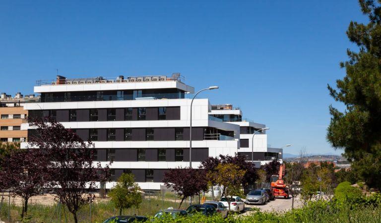 Obras pisos en construcción Alameda Osuna