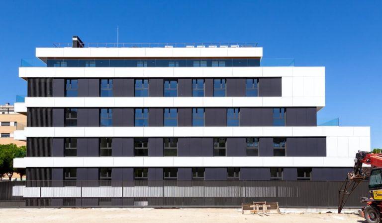Estado obras viviendas nuevas Alameda Osuna