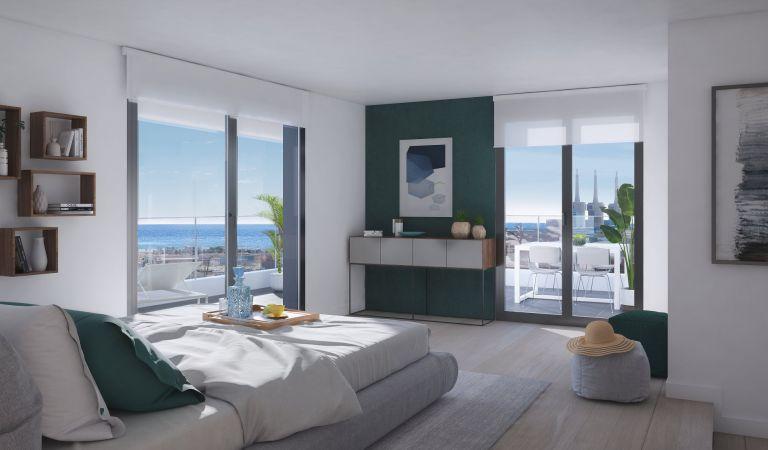 habitación pisos voramar badalona