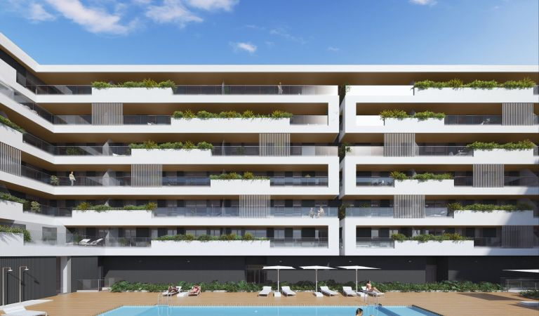 pisos con piscina obra nueva badalona