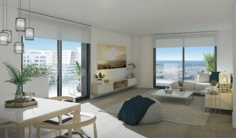 salon pisos obra nueva badalona