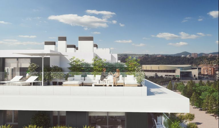 terraza obra nueva badalona vistas estadio