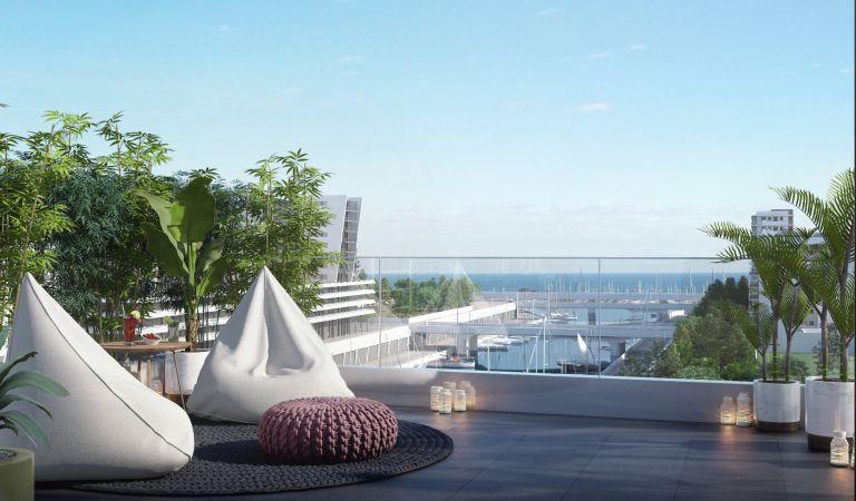 terrazas pisos obra nueva badalona