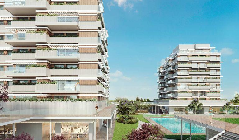compra pisos obra nueva valdebebas