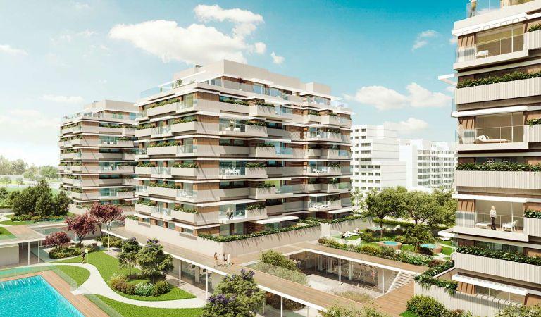 venta pisos obra nueva valdebebas