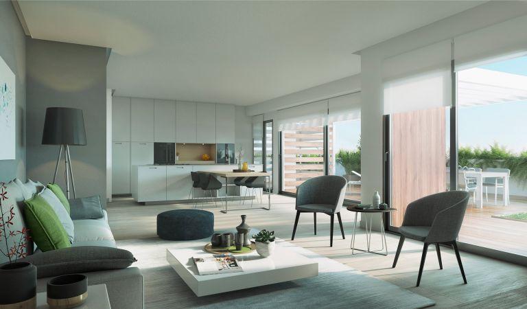 salon pisos obra nueva valdebebas madrid noroeste