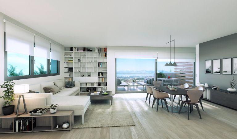 salon pisos obra nueva valdebebas