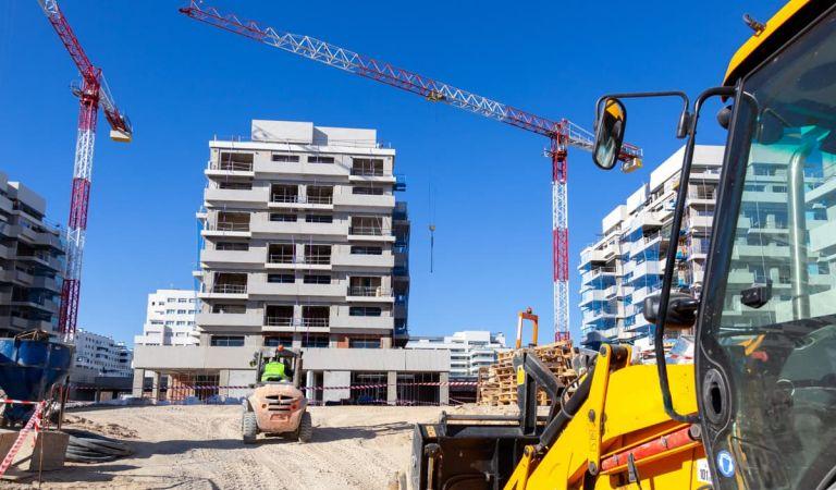Avance obras pisos nuevos en Valdebebas, Gestilar