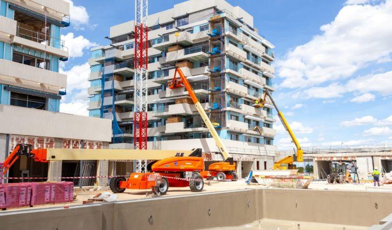 Estado obras viviendas obra nueva Valdebebas
