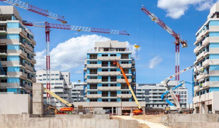 Avance obras viviendas obra nueva Valdebebas