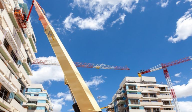 Avance obras pisos nuevos en Valdebebas junio 2021
