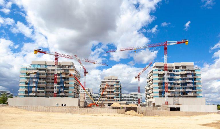 Estado obras pisos nuevos junio 2021