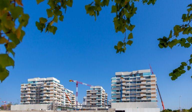 Obras pisos nuevos Valdebebas