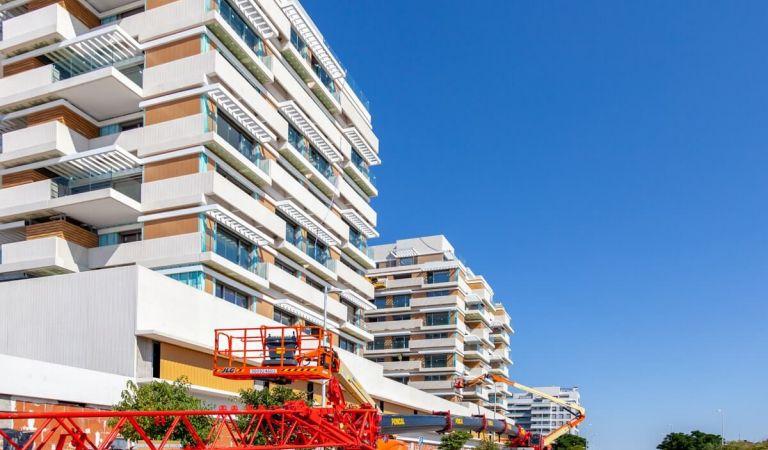 Avance obras pisos Valdebebas obra nueva