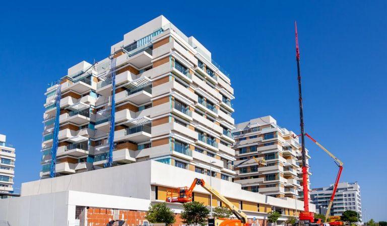 Estado obras pisos Valdebebas obra nueva