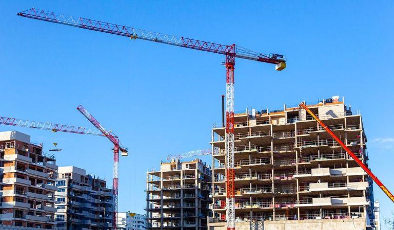 Inicio obras pisos nuevos Valdebebas diciembre 2020