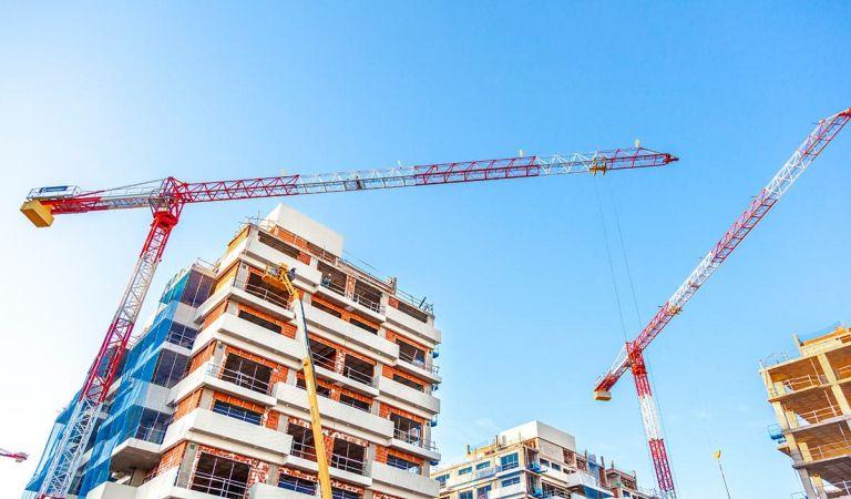 Obras promociones viviendas Valdebebas diciembre 2020