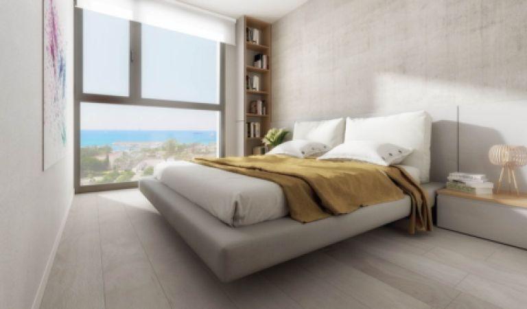 habitacion Pisos de obra nueva en Palma de Mallorca