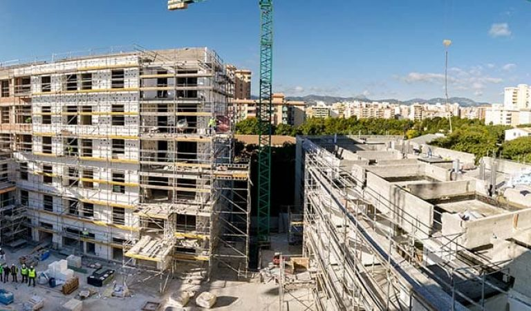 Pisos nuevos construcción Palma Mallorca ene21
