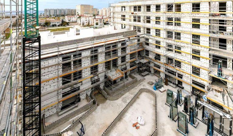 Estado viviendas obra nueva Mallorca febrero 2021