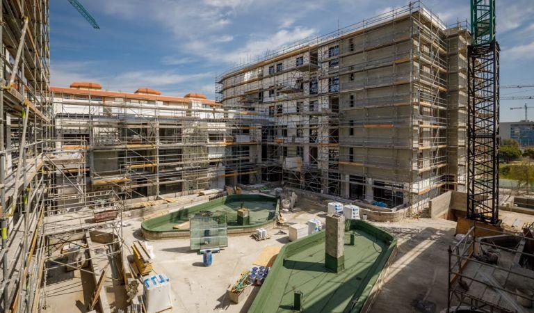 Evolución pisos obra nueva en Palma de Mallorca, estado avanzado