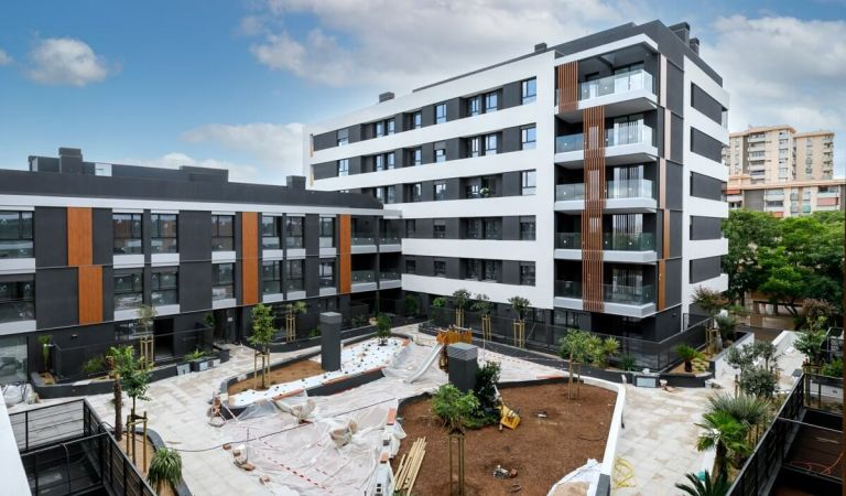 Avance obras pisos venta obra nueva Nou Llevant