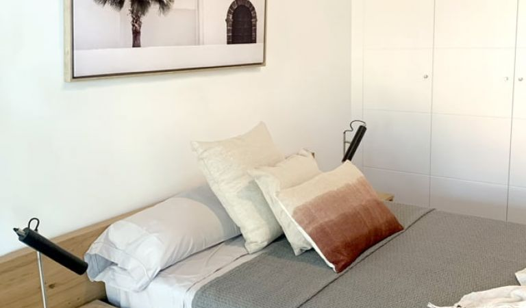 Dormitorio principal obra nueva Palma de Mallorca