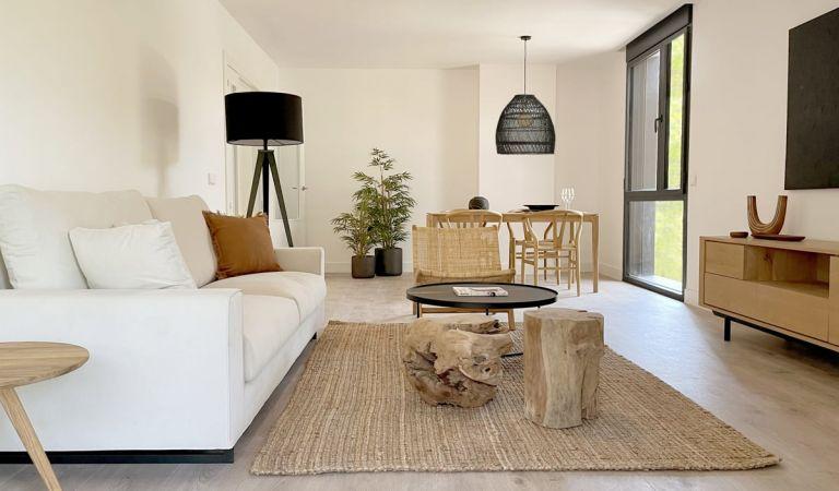 Salón luminoso pisos nuevos Palma de Mallorca