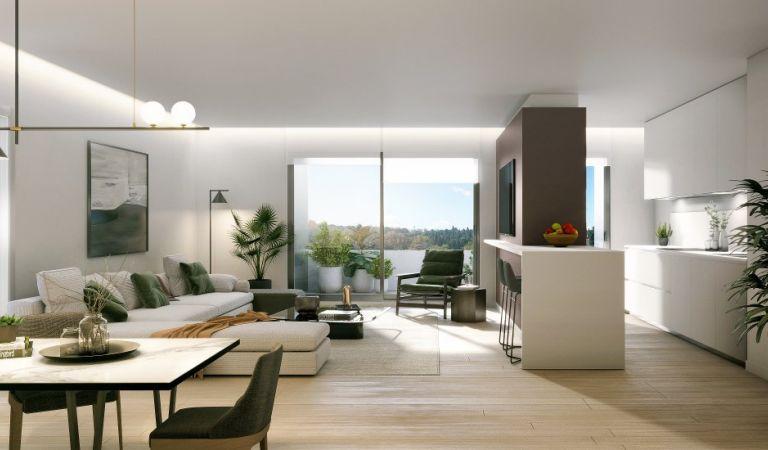 comedor pisos obra nueva madrid rio