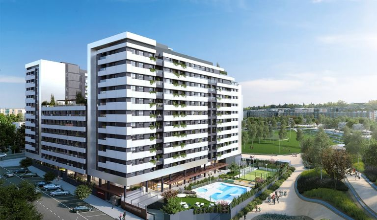comprar pisos obra nueva madrid rio
