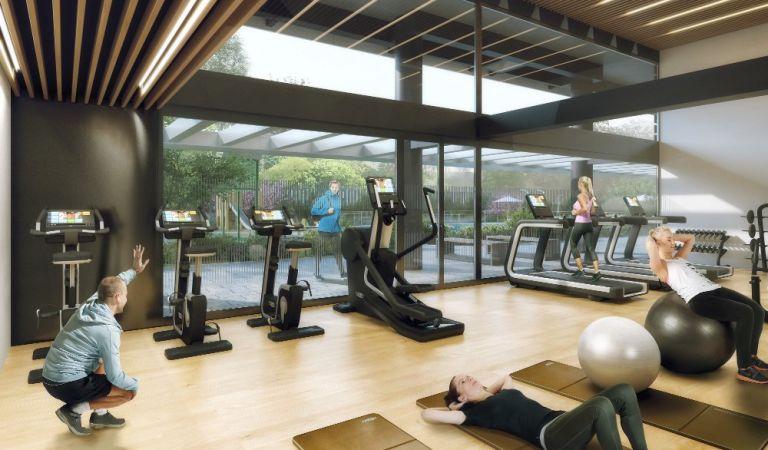 gimnasio pisos obra nueva madrid rio