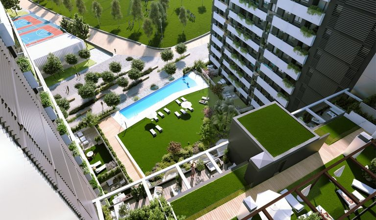 madrid rio pisos obra nueva