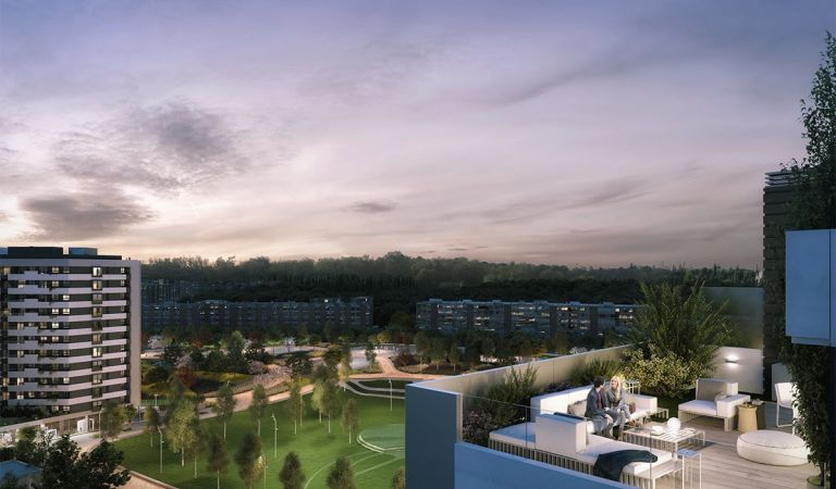 pisos con terraza madrid rio