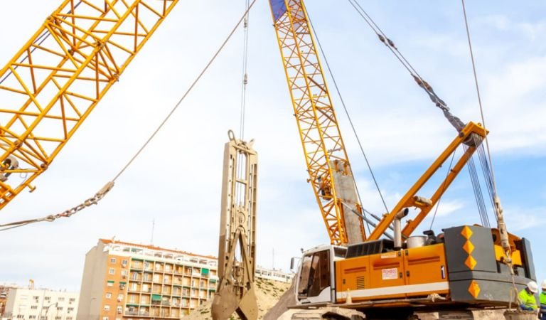 Estado obras pisos calderon
