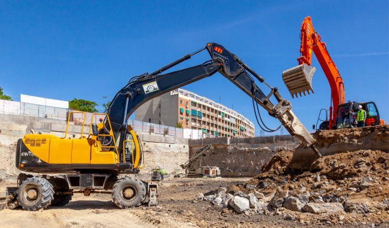 Avance obras de nuestros pisos de obra nueva en Madrid junio 2021