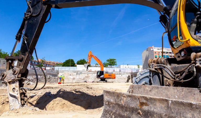 Estado obras iniciadas Calderón Madrid junio 2021