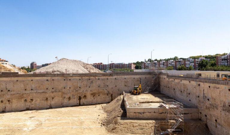 Avance obras pisos en el Calderón