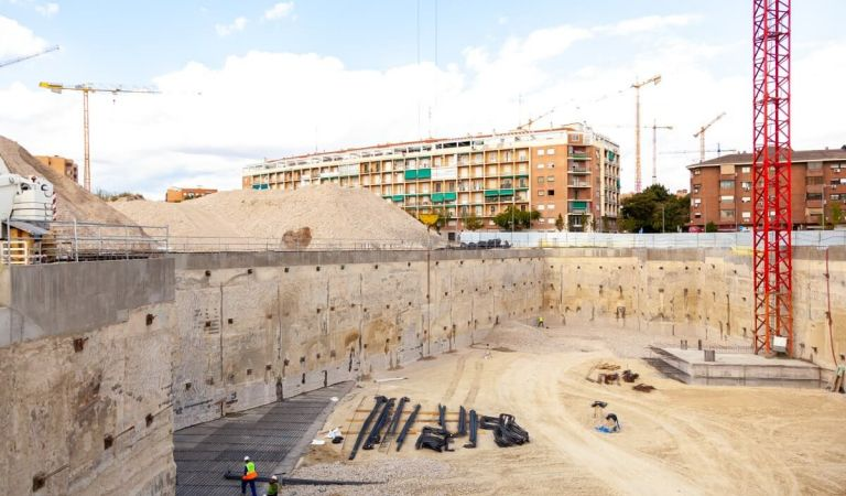 Avance obras pisos Mahou Calderón