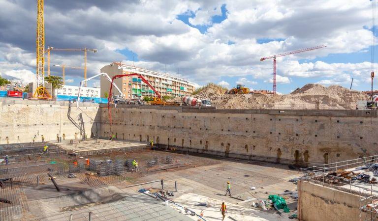 Avance obras obra nueva Madrid
