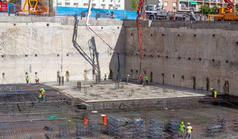 Estado obras pisos Calderón Madrid