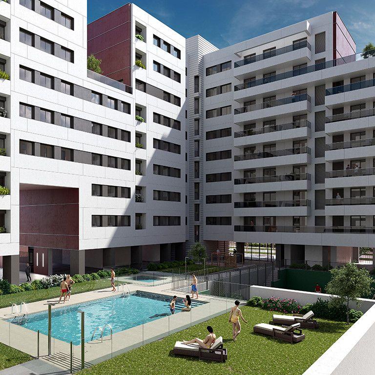 zona comun blau mar apartamentos gestilar