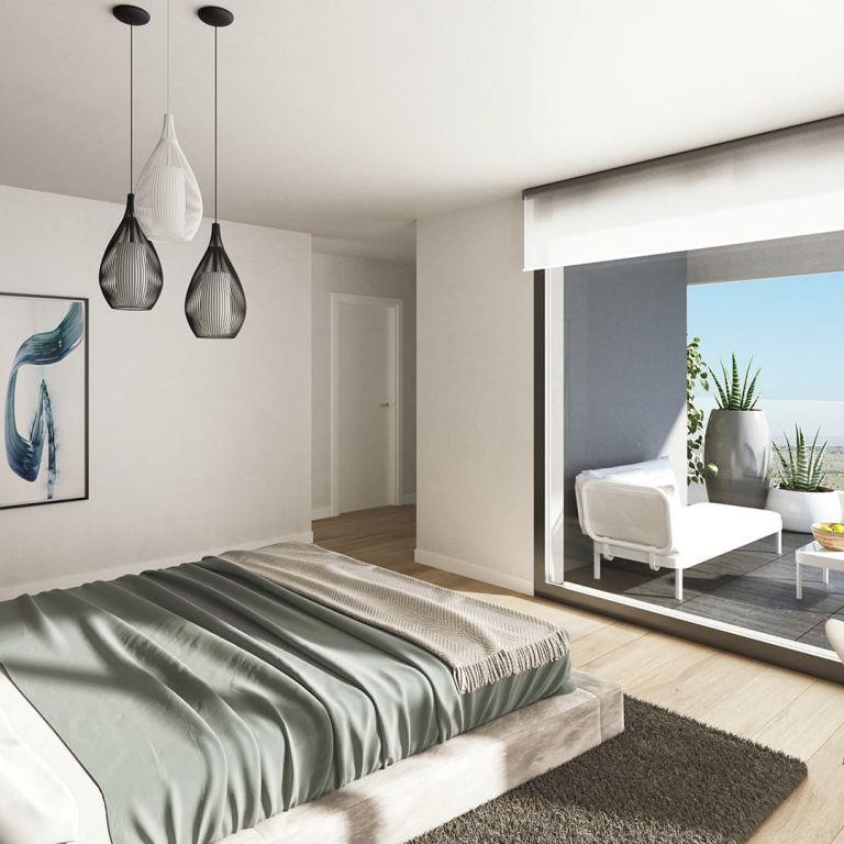 dormitorio pisos isla de cortegada Valdebebas