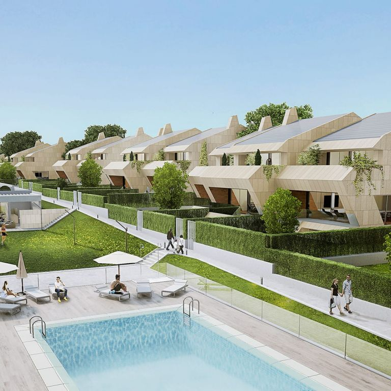 Islas Ons Detached homes in Boadilla del Monte