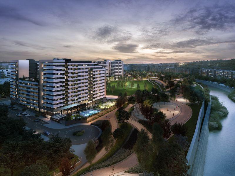pisos obra nueva madrid rio