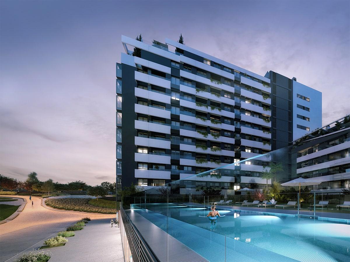 pisos de obra nueva en Madrid centro